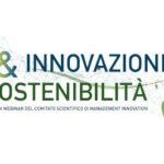 Innovazione & Sostenibilità. Via al ciclo di webinar sull'innovability