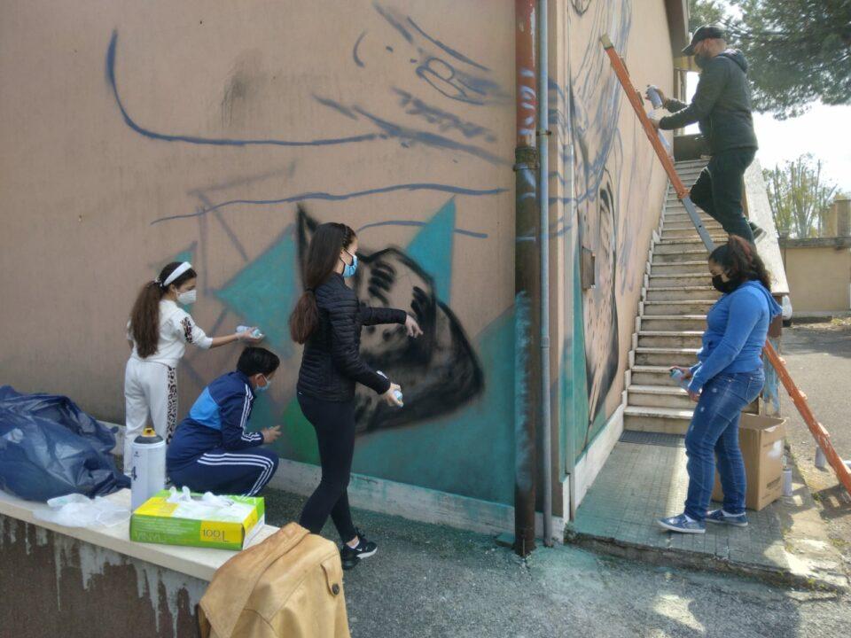 Moby Dick con gli studenti della scuola Morvillo