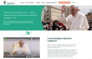 Earth Day Italia e ASviS promuovono la Piattaforma Laudato Si' di Papa Francesco